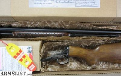 For Sale: Winchester Model 61 SHOT ONLY w/ Box & Papers 99% : Pump Action