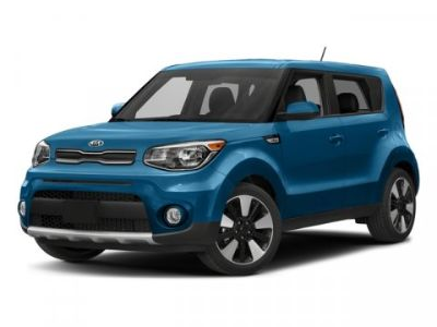 2018 Kia Soul Soul+ (Mysterious Blue/White Roof)