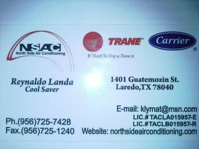 NORTH SIDE AIR CONDITIONING (Laredo)