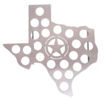 Tx shaped Jalape o Griller