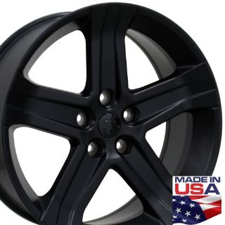 """Buy One 22"""" Fits Dodge 1500 Style Wheel Matte Black 22x9 Rim B1W motorcycle in Sarasota, Florida, United States, for US $185.25"""