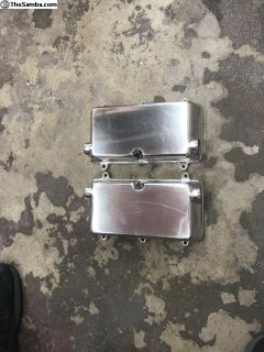 AUTOCRAFT polished valve covers with gaskets
