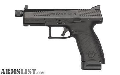 For Sale: CZ-USA- P-10 CMP 9MM BLK 17RD SR