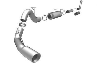 Purchase Magnaflow Turbo Back 4 inch For Ram 2500 3500 98-02 5.9L Cummins Diesel EC 15910 motorcycle in Sanford, Florida, United States, for US $714.92