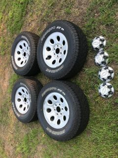 265-70-17 rims and tires