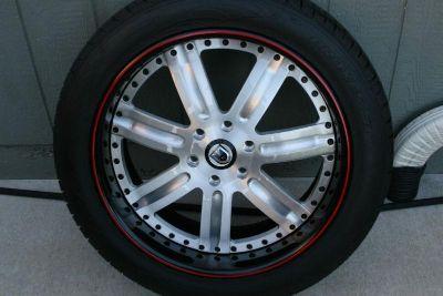 "Sell Asanti 3 Piece Wheels Toyo Proxes 22"" TPMS Sensors motorcycle in Olathe, Kansas, US, for US $3,500.00"