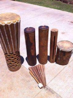Polynesian Drums for SALE (Lanai City)
