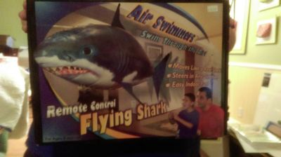 New Air Swimmers Remote Control Flying Shark