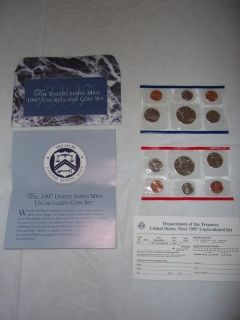 1997 Mint, Uncirculated Coin Set