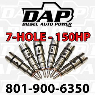 Purchase DAP + 150HP Performance Injectors 150 For Dodge RAM Diesel Cummins 24v 1998-2002 motorcycle in Kaysville, Utah, United States, for US $475.00