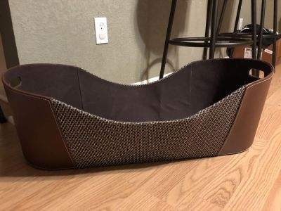 Large basket 30 in Long by 9 in wide