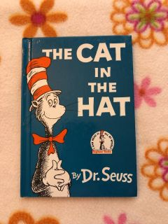 Hard cover the cat in the hat book