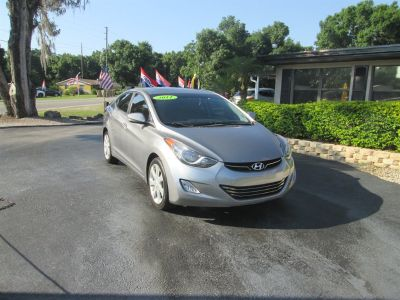 2011 Hyundai Elantra GLS (Gray)