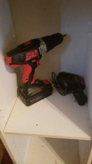18V Power drill with battery and charger