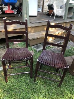 3 chairs for project