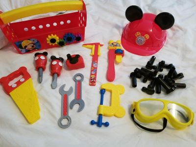 Mickey Mouse Club House Tool Set