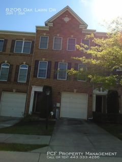 Large 3 bedroom townhouse in Laurel