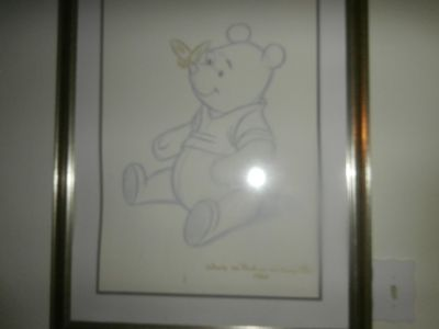Signed Winnie the Pooh and the Honey Tree