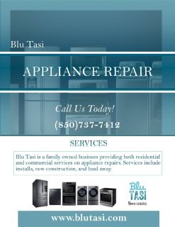 APPLIANCE REPAIR (Residential & Commercial)