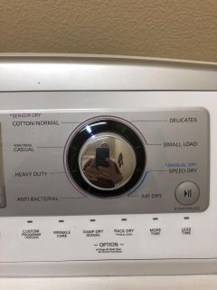 Matching set of LG washer and dryer