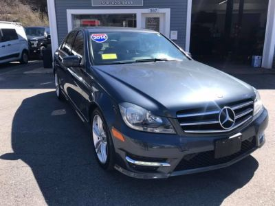 2014 Mercedes-Benz C-Class C300 4MATIC Luxury (Gray)