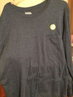 This is new with tag blue long sleeve man tshirt