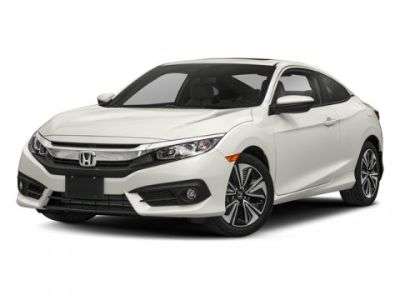 2018 Honda CIVIC COUPE EX-L (White)