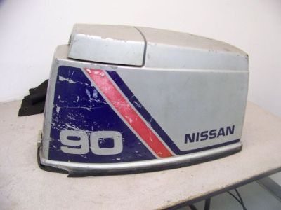 Buy GOOD USED 90 HP NISSAN TOHATSU OUTBOARD COWLING HOOD motorcycle in Scottsville, Kentucky, United States, for US $65.00