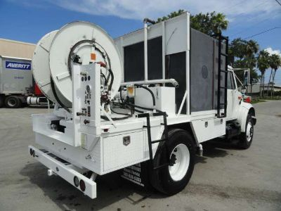 2002 International 4700 Sewer America Rodder Sewer Jetter Truck
