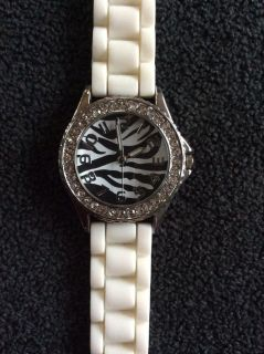 A zebra watch