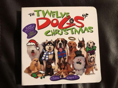 The Twelve DOGS Of Christmas Book PLUS cd inside