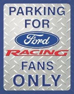 Buy PARKING FOR FORD RACING FANS VINTAGE NOSTALGIC NEW STEEL SIGN FREE SHIPPING!!! motorcycle in Brooksville, Florida, United States, for US $14.98