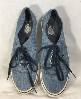 Vans Mens Size 10 TB8C Shoes Snickers Off the Wall Blue White