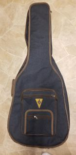 AXL Blue Padded Guitar Case Double Strap