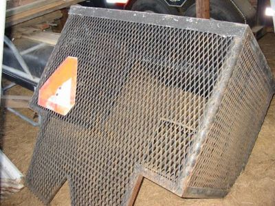 Tractor Cage  Bumper With Grill Guard (Colmesneil, Texas)