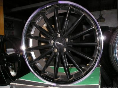 4 22 inch ruff racing wheels atlanta (with shipping available