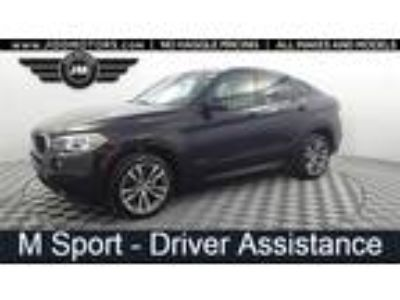 Used 2016 BMW X6 Black, 57.7K miles