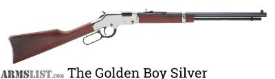 "For Sale: Henry Silver ""Golden Boy"", .22 Lever Action"