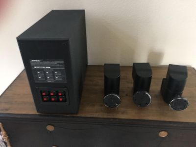 BOSE Surround Sound Speakers & System ACOUSTIMASS 7 HOME