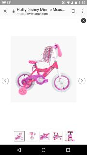 ISO Any bike with training wheels for 2-3 year old