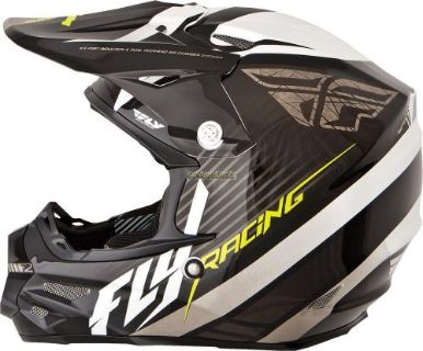 Buy FLY F2 CARBON FASTBACK HELMET BLACK/WHITE motorcycle in Sauk Centre, Minnesota, United States, for US $287.95