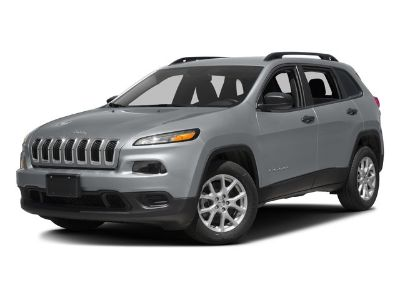 2017 Jeep Cherokee Sport (Bright White Clearcoat)