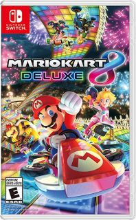Mario Cart 8 Deluxe for Switch