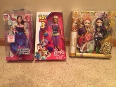 Barbies. New in Box
