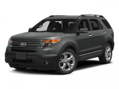 2013 Ford Explorer Limited (White)