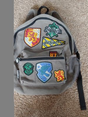Harry Potter Patches Backpack