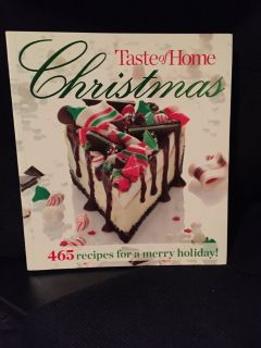 New Taste of Home Christmas Cookbook