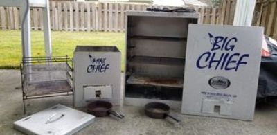 Big Chief and Mini Chief Electric Smokers