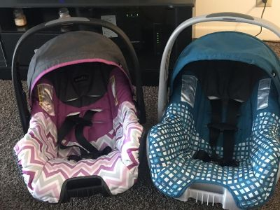 Two Infant car seats