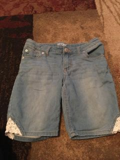 Cat & Jack Bermuda lg 10/12 soft denim shorts - ppu (near old chemstrand & 29) or PU @ the Marcus Pointe Thrift Store (on W st)